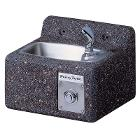 Halsey Taylor Endura Sierra 4592 Non-Refrigerated Face-Mounted Stone Fountain, 9 Inch Height